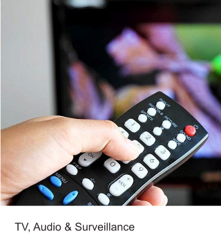 TV, Audio & Surveillance
